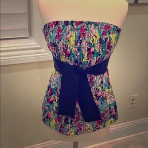 Strapless top small
